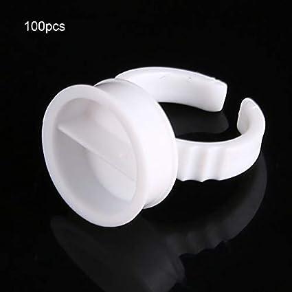 Matthew00Felix La tinta del anillo 100pcs blanco de la PC del ...