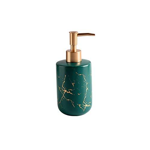 Zuinig Aanrecht zeep dispensers gouden marmeren patroon keramische zeep dispenser zeep dispenser douchegel shampoo…