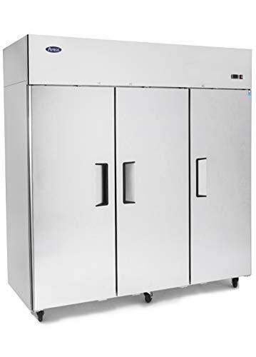 ATOSA MBF8003 Commercial Freezer, 3 Door Top Mount, Energy Star