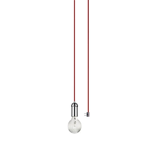 Pendant Light Red Cord in US - 2