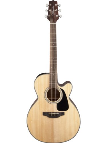 Takamine GN30CE-NAT G Series NEX Cutaway Acoustic-Electric Guitar Bundle with Gig Bag, Tuner, Strap, Strings, Picks, and Polishing Cloth - Natural