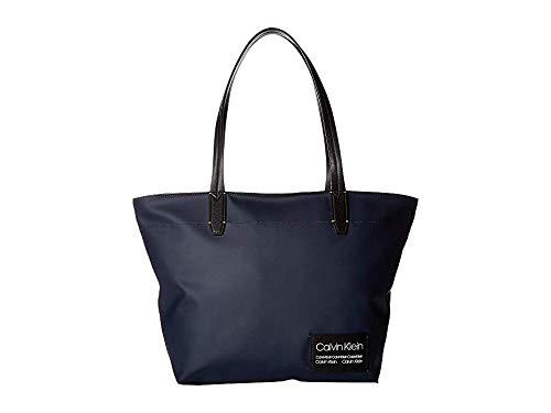 - Calvin Klein Women's Celia Matte PU Tote Navy One Size