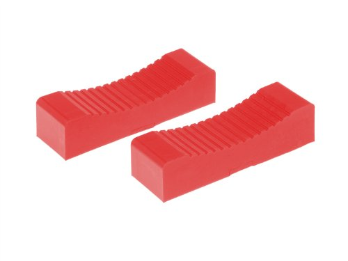 Prothane 19-1413 Red Jack Stand Pads fits up to 1-1/2
