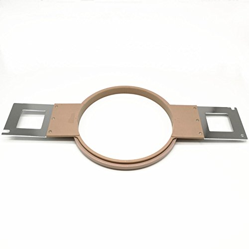Industrial embroidery parts SF521 SWF 21cm large round plastic hoop total length 495mm for sewing machine