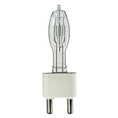 G38 Bipost Mogul Base (Ushio 1090 - CYX - Stage and Studio - T9.5 - Top Frosted - 2000 Watt Light Bulbs - 120 Volts - G38 Base - 3200K)
