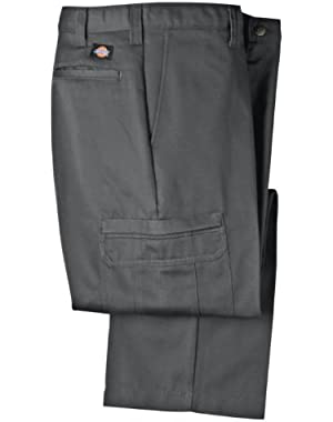 Mens LP337 Cotton Cargo Pant-CHARCOAL