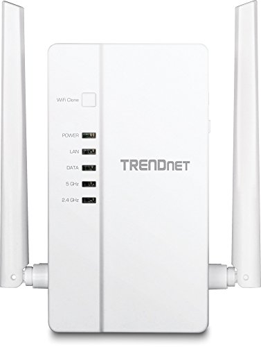 TRENDnet Wi-Fi Everywhere Powerline 1200 AV2 Dual-Band AC1200 Wireless Access Point, 3 x Gigabit Ports, TPL-430AP by TRENDnet