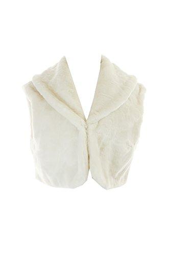 Cropped Fur Vest - 6