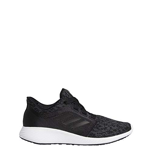 adidas Women's Edge Lux 3 Running Shoe Black/Carbon, 6.5 M US