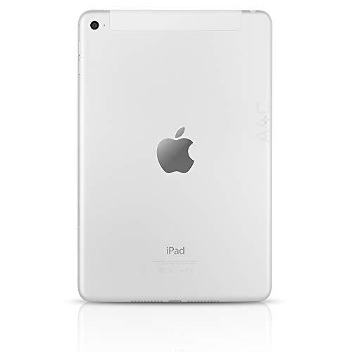 Apple iPad Mini 4, 64GB, Silver - WiFi + Cellular (Renewed)