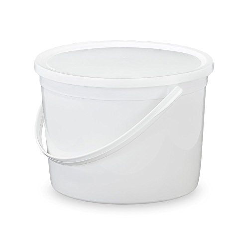 2 1 2 gallon bucket with lid - 4