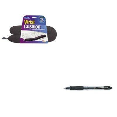 KITIMAA10160PIL31020 - Value Kit - IMAK PRODUCTS Keyboard Wrist Cushion (IMAA10160) and Pilot G2 Gel Ink Pen (PIL31020) (Keyboard Imak)
