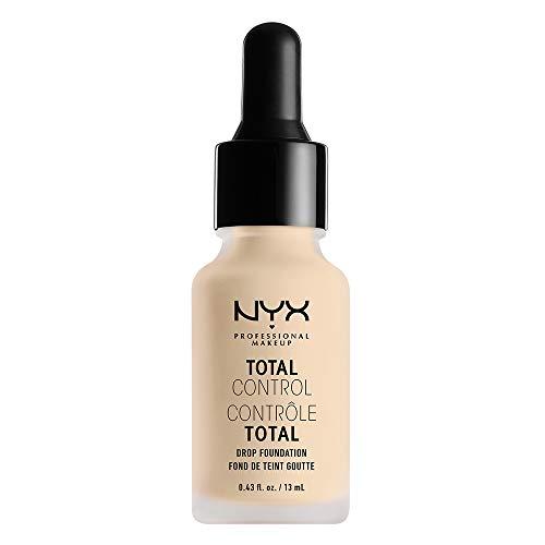 NYX PROFESSIONAL MAKEUP Total Control Drop Foundation, Pale, 0.43 Fluid Ounce