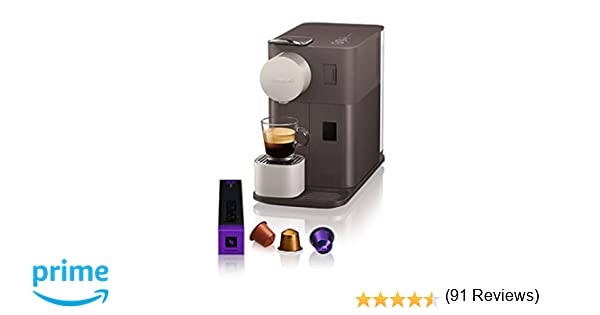 Nespresso EN500BW DeLonghi Lattissima One - Cafetera monodosis de ...