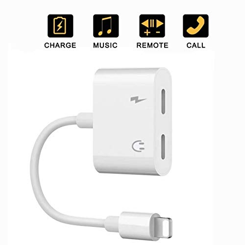 2 in 1 Headphone Splitter Adapter Cable and Jack Aux Audio