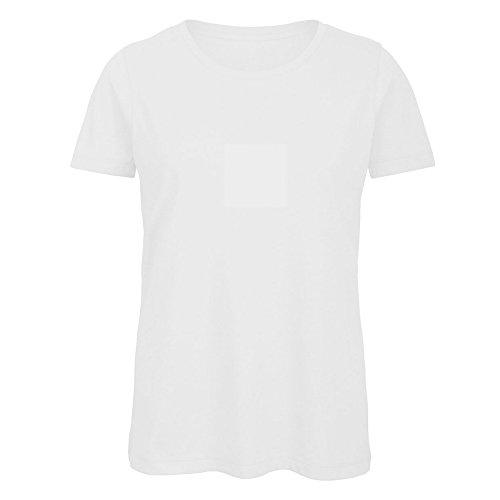 Bianco Manica Maglietta Donna a Corta in Girocollo B Cotone Favourite Biologico amp;C q4wnExXP