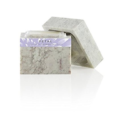 - Zents Concreta, Firming Repair Balm and Solid Parfum, With Pure Organic Shea Butter and Organic Coconut Oil in Soapstone,1.25 fl oz/37.5 millileters (Petal)