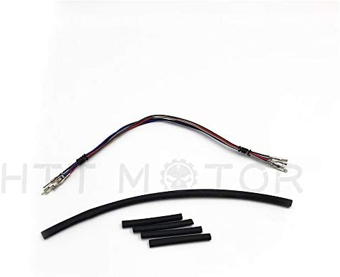 """12/"""" Handlebar Wire Extension For 14/""""-16/"""" Monkey Bar Bars 07-13 Harley Touring"""