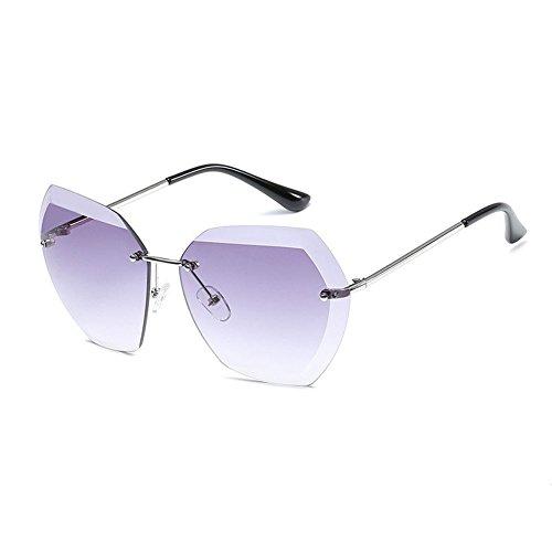 2 mujeres Sol NO Oculos montura mujeres 8 Vintage femeninas NO Summer marca diseñador WLHW la De sol Gafas Color sin de UV400 Ladies para Moda Sunglass de Tn14XSqw