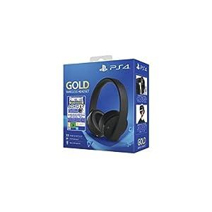 Sony – Gold Edición Headset Fortnite VCH 2019 (PS4), Color Negro 310cY9psA8L