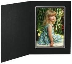 10 Pack Tap Buckeye 5x7 Black//Black Folder