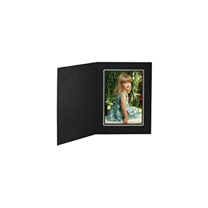 Amazoncom Tap Photo Frame Buckeye 4x6 Blacksilver Folder 100