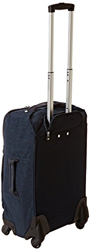 Kipling Darcey Softside Spinner Wheel Luggage, True Blue, Carry-On 22-Inch