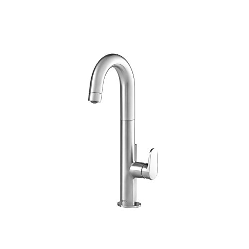 American Standard 4931410.075 Beale Single-Handle Pull Down Bar Faucet, Stainless Steel