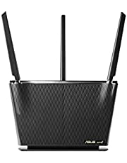 Asus RT-AX68U Home Office Router (Ai Mesh WLAN System, WiFi 6 AX2700, Gigabit LAN, AiProtection Pro, USB 3.0, Instant Guard VPN, PPTP, OpenVPN)