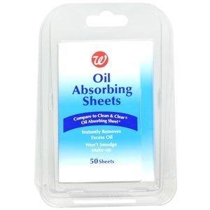 Walgreens Oil Absorbing Sheets, 50 ea