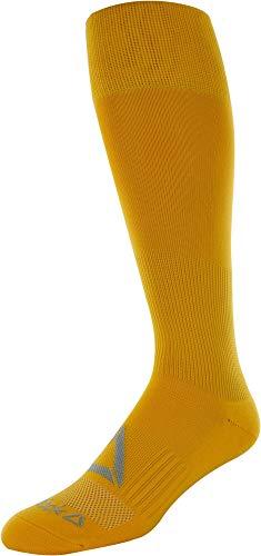 Reebok All Sport Athletic Knee High Socks, (Gold, - High Knee Gold