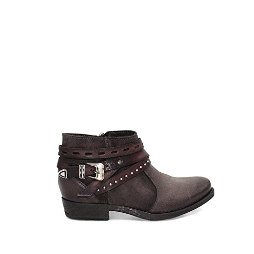 Miz Mooz WoMen Dublin Ankle Boot, Medium Charcoal