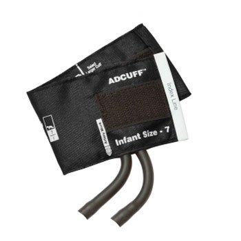 adc-845-7ibk-2-blood-pressure-cuff-with-2-tubes-black-bk-infant-with-2-tube