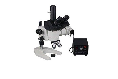 Radical 600x Trinocular Steel Aluminium Alloy Metal Testing Lab Metallurgical Reflected Light Microscope