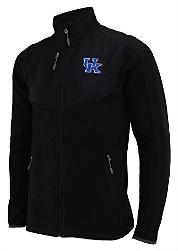 - Outerstuff NCAA Mens Kentucky Wildcats Tactical Polar Fleece Jacket, Black, Medium