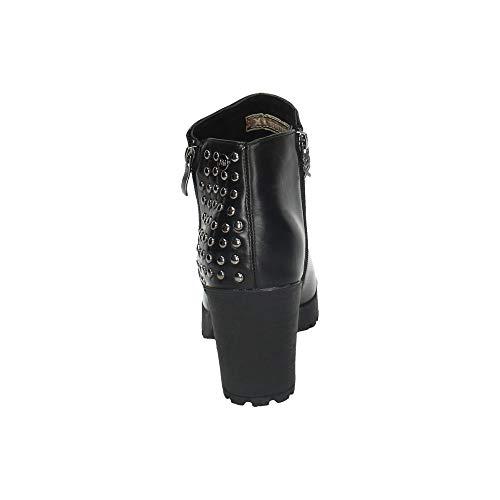 Kurzschaft Stiefel 48456 Schwarz XTI Damen gTZz1wX