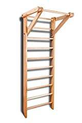SO-01-220       Wall bars SO-01-220 is the optimal Swedish Ladder for those ages 2 or older. This ladder may be used for gymnastics, strength training, fitness, parkour, bodybuilding, physical therapy, scoliosis treatment, and to impro...
