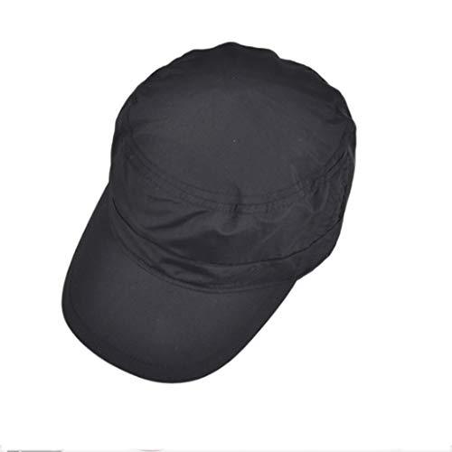 Uv De Secado Gorra Lucky Deportes Cap Flat Hombres La Proteccion Béisbol Transpirable Rápido Black Sunscreen wpxYRFq