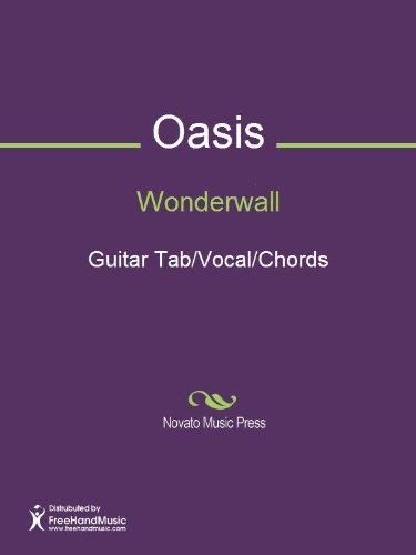 Wonderwall Sheet Music (Guitar Tab/Vocal/Chords) - Kindle