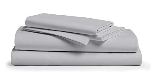 Comfy Sheets Luxury 100% Egyptian Cotton Sheets - Genuine 1000 Thread Count 4 Piece Sheet Set for Kids & Adults, Bedding for Bed Fits Mattress Up to 18