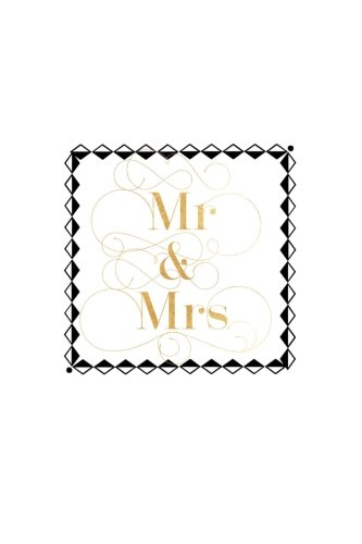 Mr & Mrs: Black & Gold Box Wedding Planner Notebook | Plan Your Wedding & Future Together With Our Wedding Planner | Bride to Be, Mother of The Bride, ... Organizer with 100 pages | 6