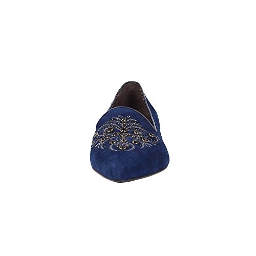 Bleu 35 Roberto Couleur p Avec Botella giovanna Broderie p Taille Mocassin Oq4gBW8RO