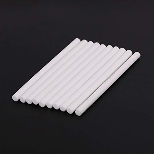 RGBIWCO - 10pcs Humidifiers Replacement Filters,Cotton Swab for USB Air Ultrasonic Humidifier Diffuser Filter 8130mm