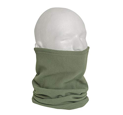 Rothco Polar Fleece Neck Warmers, Foliage Green