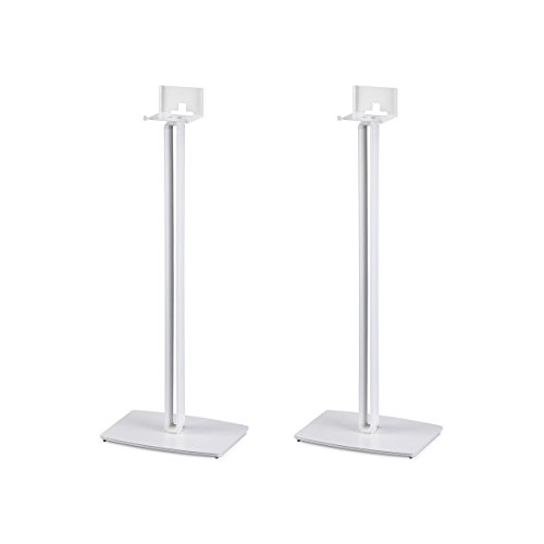 SoundXtra Floor Stands for Bose SoundTouch 10 - Pair (White) by SoundXtra