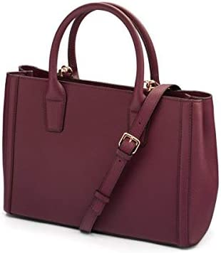SageBrown Kate Bag Purple Full Grain