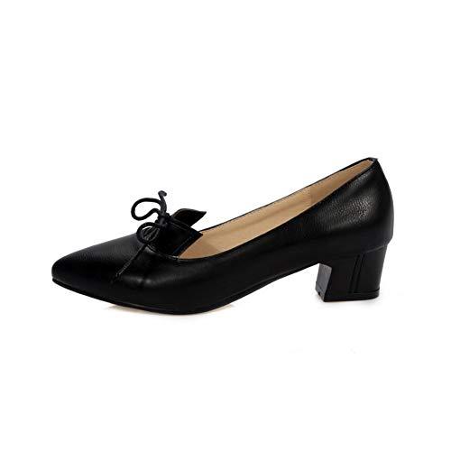 EU Compensées Noir Femme Sandales SDC05660 Noir AdeeSu 5 36 gwxv7qg8