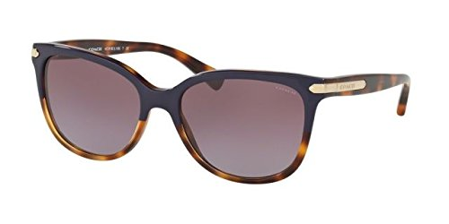 Coach Womens L109 Sunglasses (HC8132) Purple/Purple Acetate - Non-Polarized - - Sunglasses Coach Purple