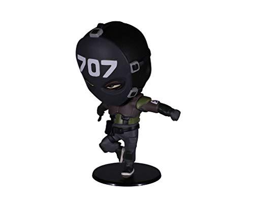 Ubisoft Rainbow Six Siege Collection Chibi 4 Figurine Figure and Game Code Not Machine Specific (Vigil)