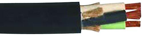 Carol 02724.85.01 SOOW Carolprene Jacketed Type Portable Cord, 90 Degree C, 600V UL/CSA Portable Cord, 12/2 SOOW 600V, 250' CL, Black